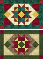 December Star Placemats Pattern NDD-133