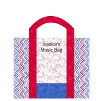 Note Tote Pattern NDD-137