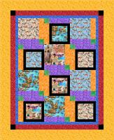 World Traveler Quilt Pattern NDD-165