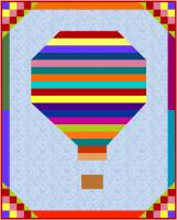 Hot Air Balloon Lap Quilt Pattern NDD-166
