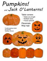 Pumpkins and Jack O'Lanterns! Pattern NS-39