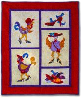 Hens on Heels Quilt Pattern NS-5