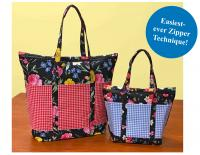 Cooler Grocery Tote & Insulated Lunch Tote Pattern NZP-Q012