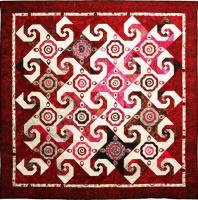 Wine and Roses Quilt Pattern PAD-114
