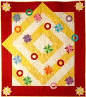 Pinwheels and Rings Quilt Pattern PAD-115