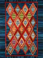 Striped Diamonds Quilt Pattern PAD-126e