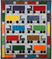 I Love Semi Trucks Quilt Pattern PAD-133e