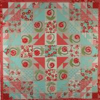 Ring Around the Posy Quilt Pattern PAD-135e