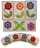 Flower Hugs Quilt Pattern PAD-145e