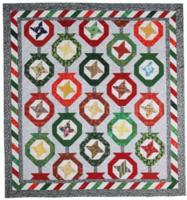Ornamental Christmas Quilt Pattern PAD-151e
