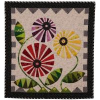 Ferris Wheel Flowers Quilt Pattern PAD-158e