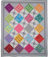 Radiant Squares Quilt Pattern PAD-163e