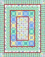 Cat & Mouse Game Quilt Pattern PC-105