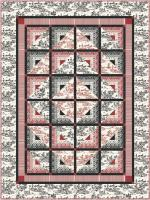 Log Cabin Half Splits Quilt Pattern PC-130