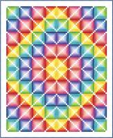 Candyland Quilt Pattern PC-160