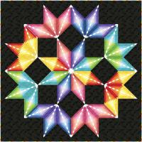 Colorburst Quilt Pattern PC-161