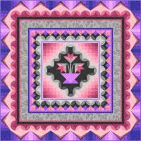 Ambience Medallion Quilt Pattern PC-180