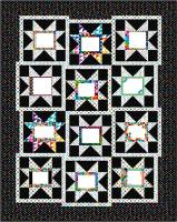Saw-Tooth Stars & Signatures Quilt Pattern PC-186