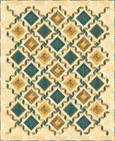 Tiles & Lattice Quilt Pattern PC-188