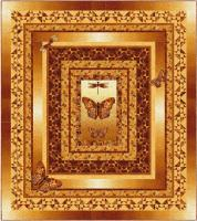 On Golden Wings Quilt Pattern PC-206