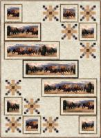 Bison at the Border Quilt Pattern PC-209