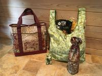 Tote Bag Trio Pattern PC-249