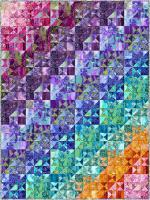 Splendid Split Stars Quilt Pattern PC-253