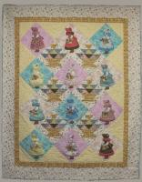 Flower Basket Sue Quilt Pattern PCG-2107e
