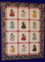 Straw Bonnet Sue Quilt Pattern PCG-2115e