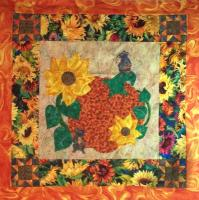 Harvest Mice Quilt Pattern PCG-2136e