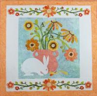 Prairie Meadow Bunny Quilt Pattern PCG-2149e