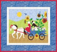 Harvest Wagon Quilt Pattern PCG-2151e
