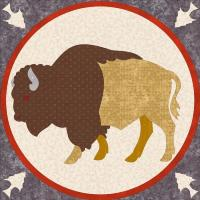 Bison of the Plains Quilt Pattern PCG-3007e