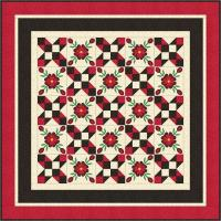 Field of Flowers Quilt Pattern PCG-3012e