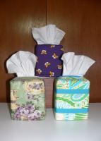 My Own Tissue Box Cover Pattern PED-102