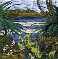 Minnesota Inlet Stained Glass Pattern PES-111S