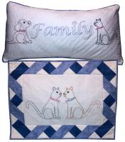 Fur Baby Family Embroidery Pattern PG-104