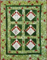 Christmas on Cardinal Mountain Wall Hanging Pattern PG-109