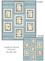 Furry Friends Quilt Pattern PJB-131