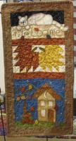 Fall Cottage Sampler Pattern PLD-452