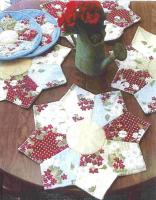 Star Flower Placemats & Pot Holders Pattern PLD-627