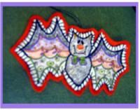 Batty Boo Pattern PLD-786
