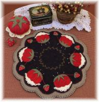 Memere's Pincushion & Candle Mat Pattern PLP-149e
