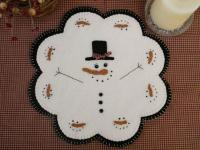 January Thaw Penny Rug Candle Mat Pattern PLP-153e