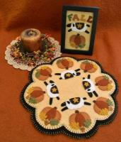 Autumn Sheep Candle Mat Pattern PLP-173e