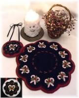 Christmas Candy Candle Mat Pattern PLP-178e