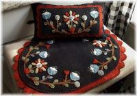 Secret Garden Runner and Mini Pillow Pattern PLP-208e