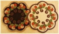October Harvest Candle Mat Pattern PLP-210e