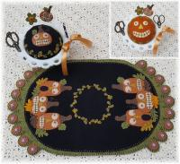 Fright Night Table Runner Pattern PLP-212e