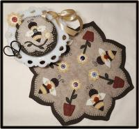 Buttons & Bees Table Mat Pattern PLP-220e